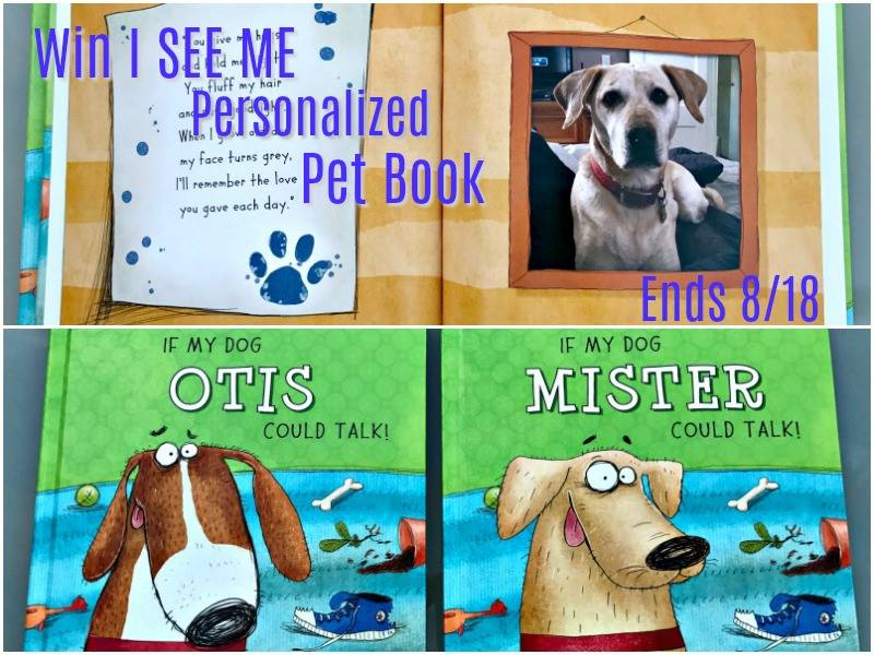 Win I see me Pet Book!