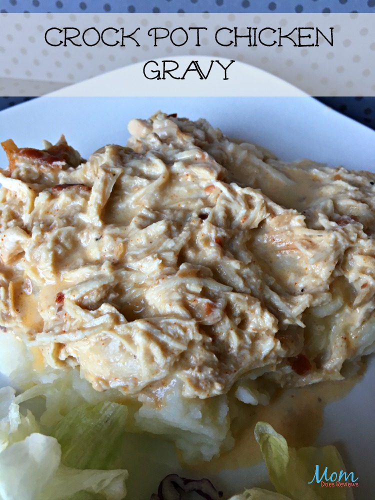 Crock Pot Chicken Gravy