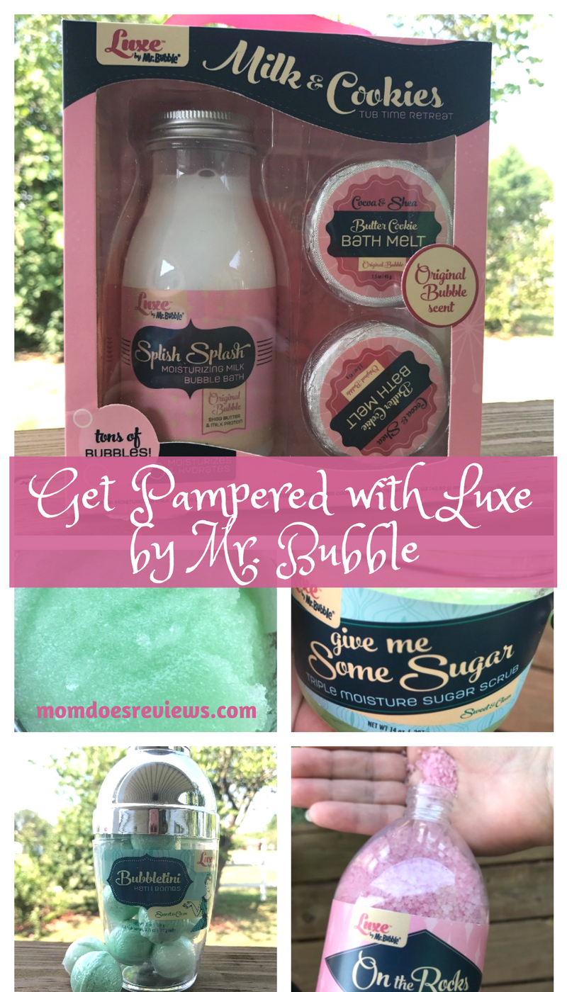 Gift the Gift of Pampering with Luxe by Mr. Bubble