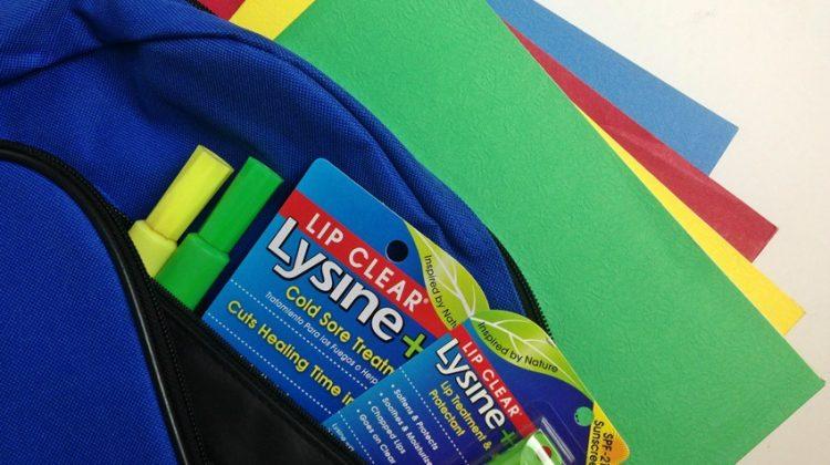 Lysine Lip Clear Back to School