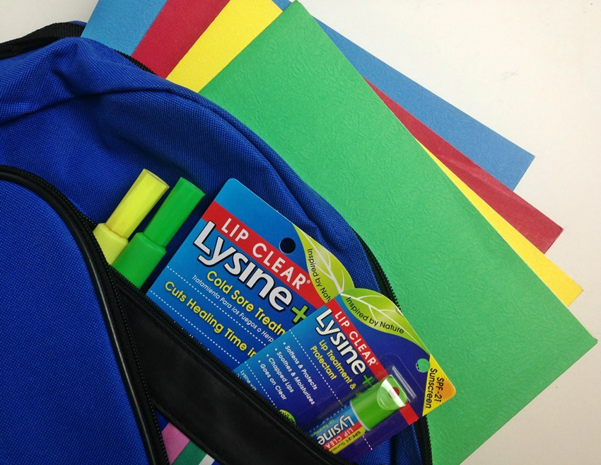 Lysine Lip Clear Back to School