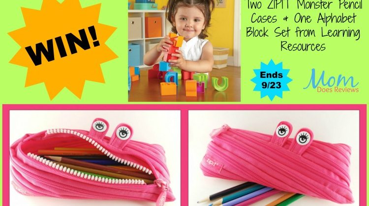 #Win ABC Blocks & (2) ZIPIT Pencil Case US ONLY, ends 9/23