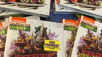TMNT party! Wanted: Bebop & Rocksteady DVD