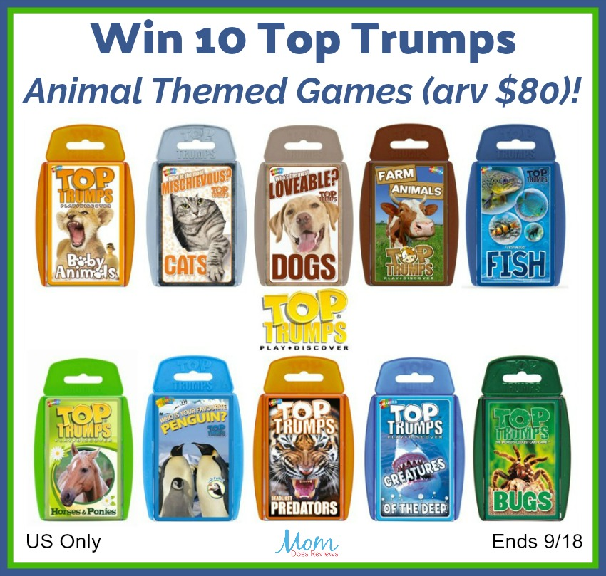 Top Trumps Games Giveaway button
