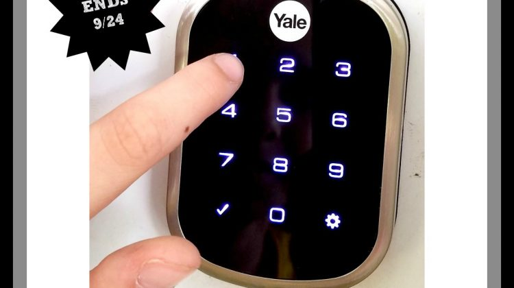 #Win Yale Assure Lock Open to US Only, ends 9/24 #Back2School17