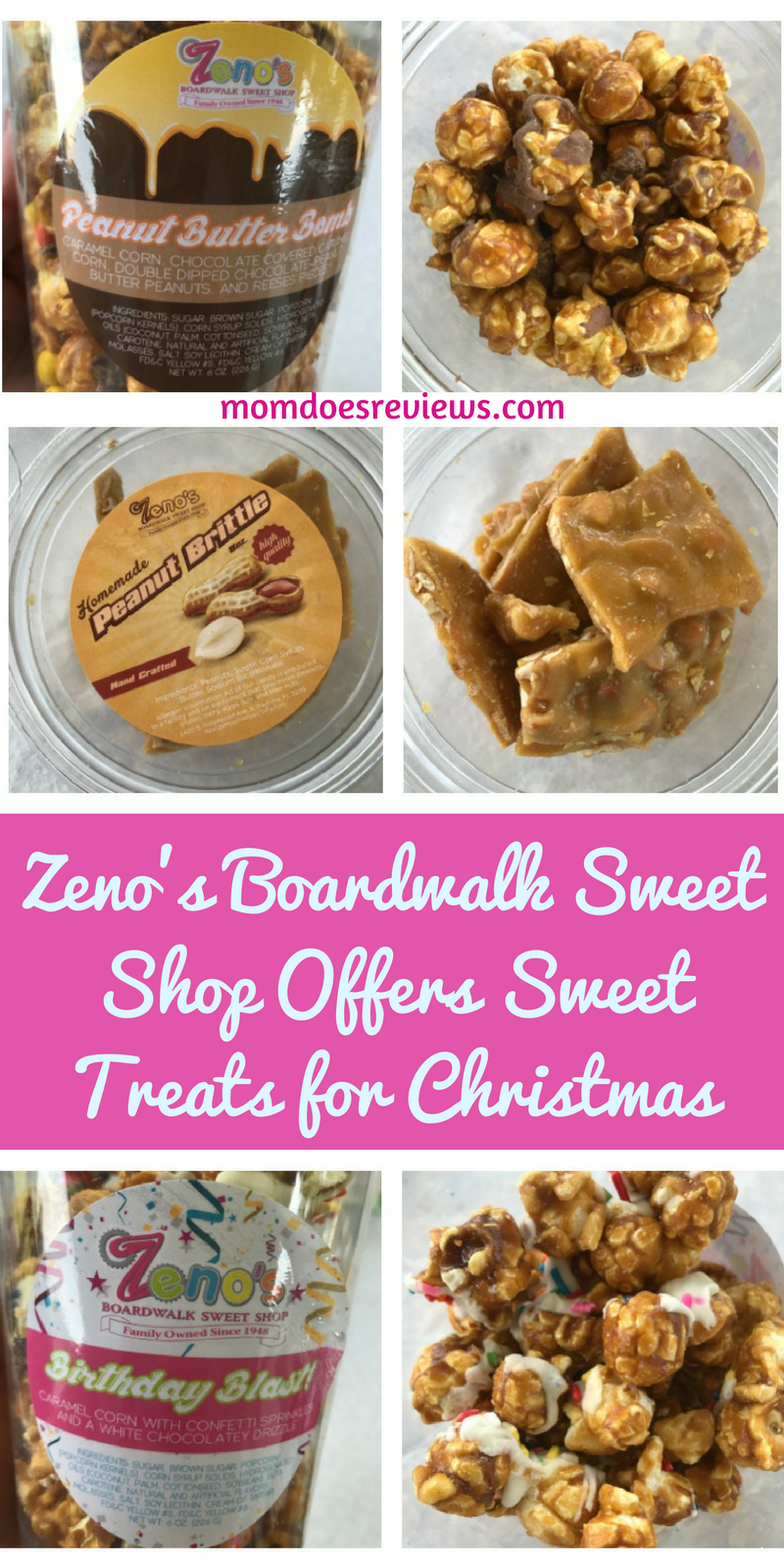 Zeno's Boardwalk Sweet Shop Offers Sweet Treats for Christmas