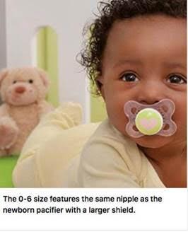 baby safety month MAM 0-6