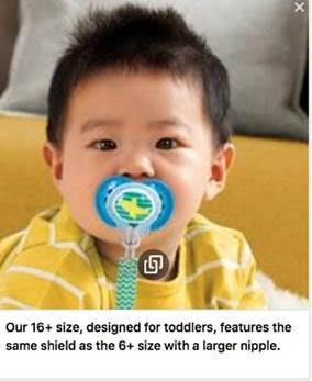 baby safety month MAM 16+