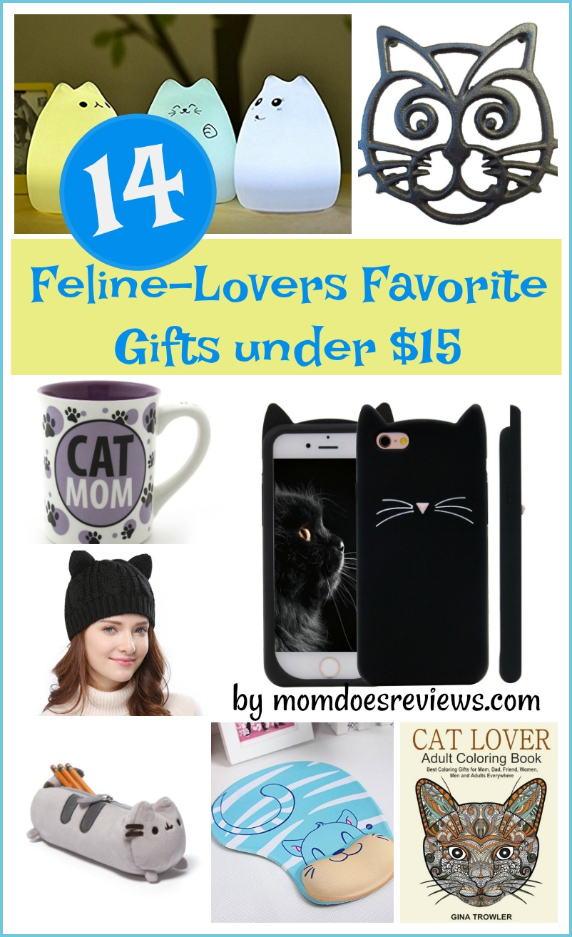14 Feline-lovers Favorite gifts under $15
