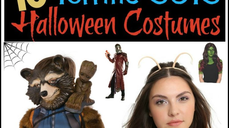 10 Terrific Guardians of the Galaxy Halloween Costumes! #GOTG2