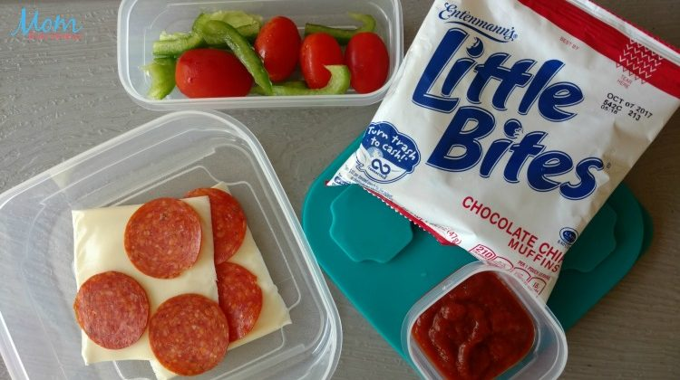 5 Day School Lunch Menu Plan featuring Entenmann's Little Bites #LoveLittleBites