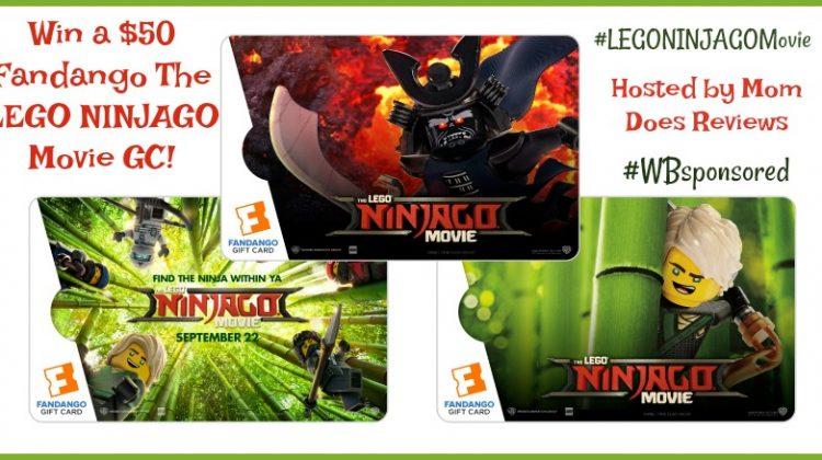 Win LEGONINJAGO Movie Fandango gc
