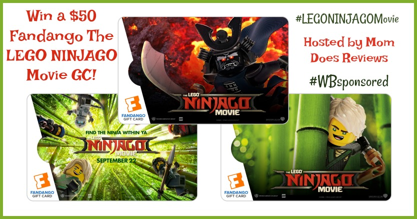 Win LEGONINJAGO Movie Fandango gc