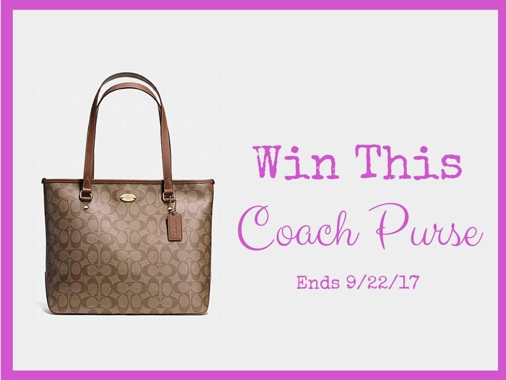 win a coach purse