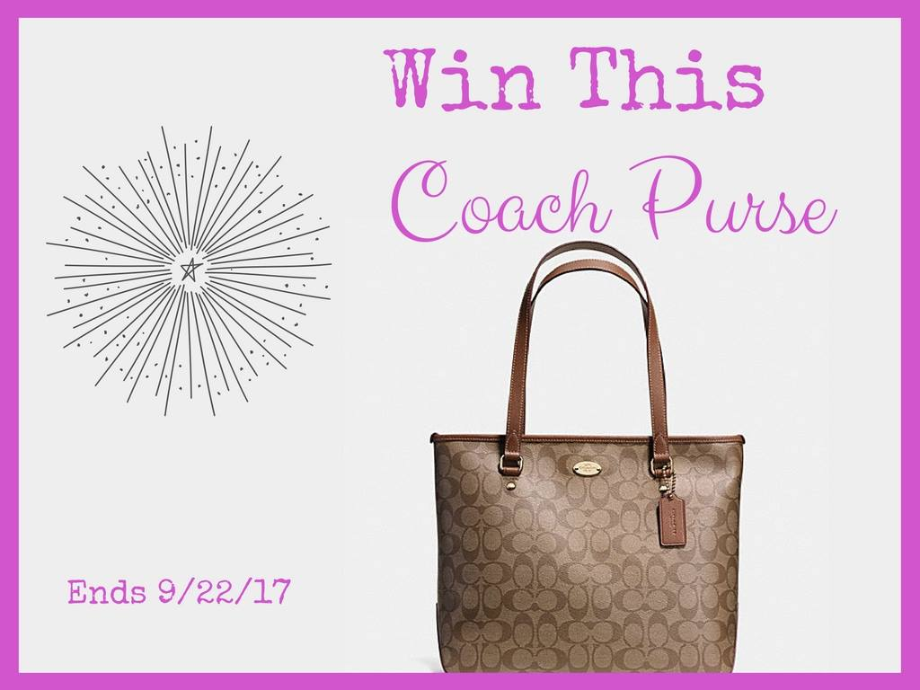 Win this Coach Purse