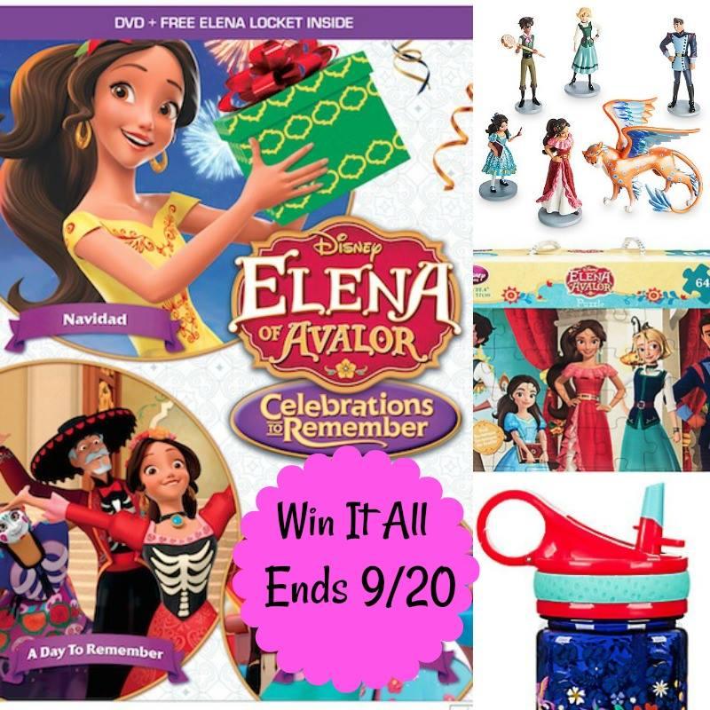 Win Elena of Avalor prize