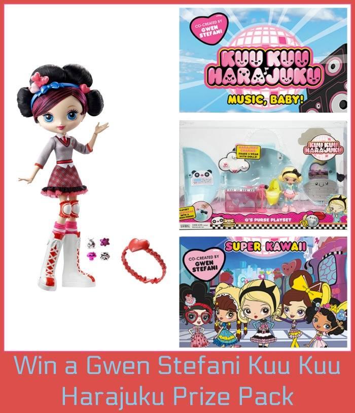 "Gwen Stefani's ""Kuu Kuu Harajuku"" Prize Pack ($70 Value)"