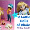 Win 2 Lottie Dolls
