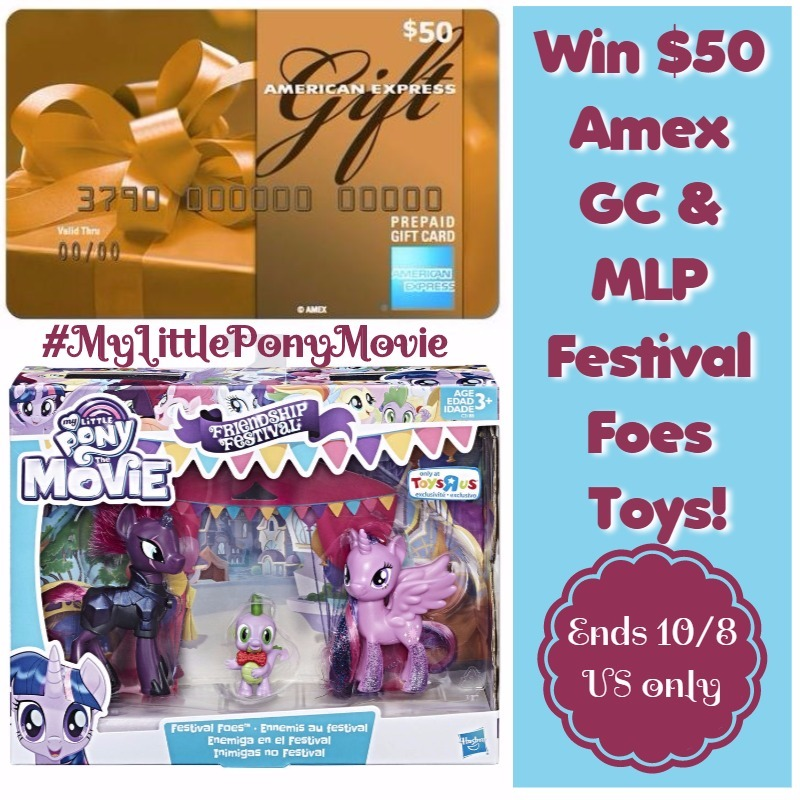 Win $50 AMEX gc and MLP toy