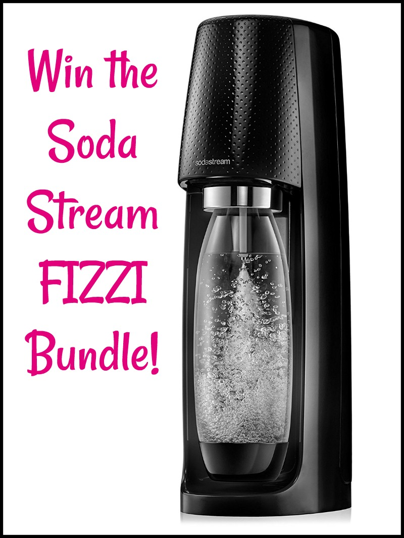 Win SodaStream Fizzi Bundle