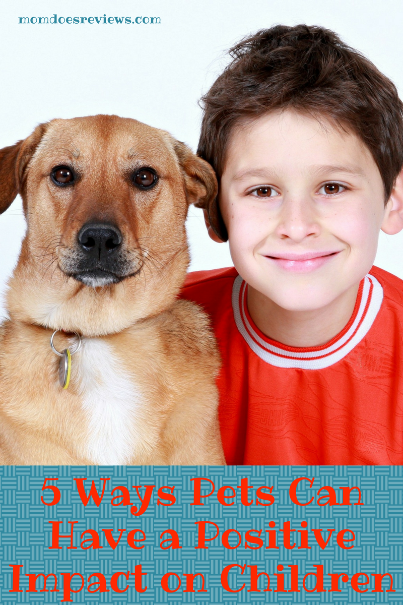 5 Ways Pets Can Have a Positive Impact on Children