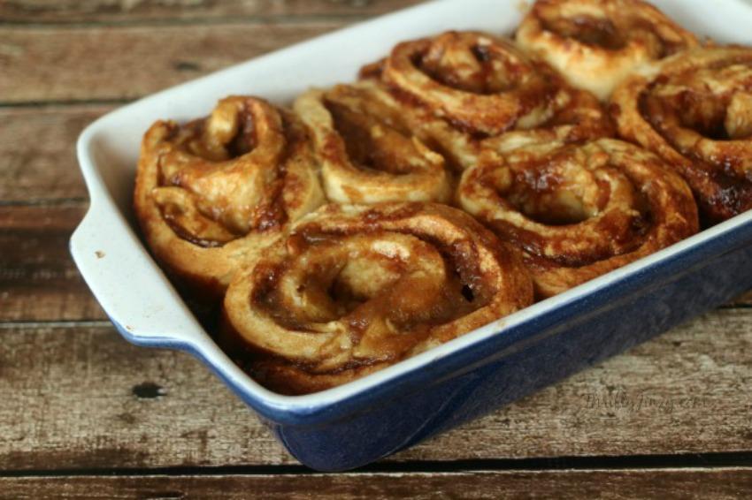 Apple Pie Cinnamon Rolls Recipe – From Scratch!