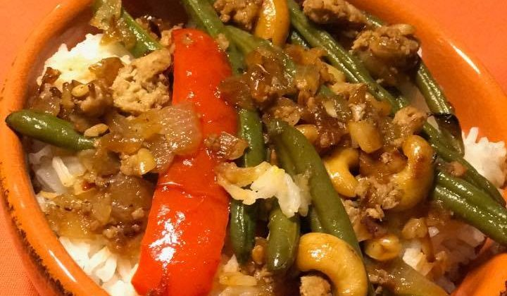 Day 27 of our 30 Days of #EasyDinners – Asian Turkey Green Bean Dinner