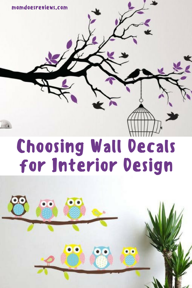 Choosing Wall Decals For Your Interior Design