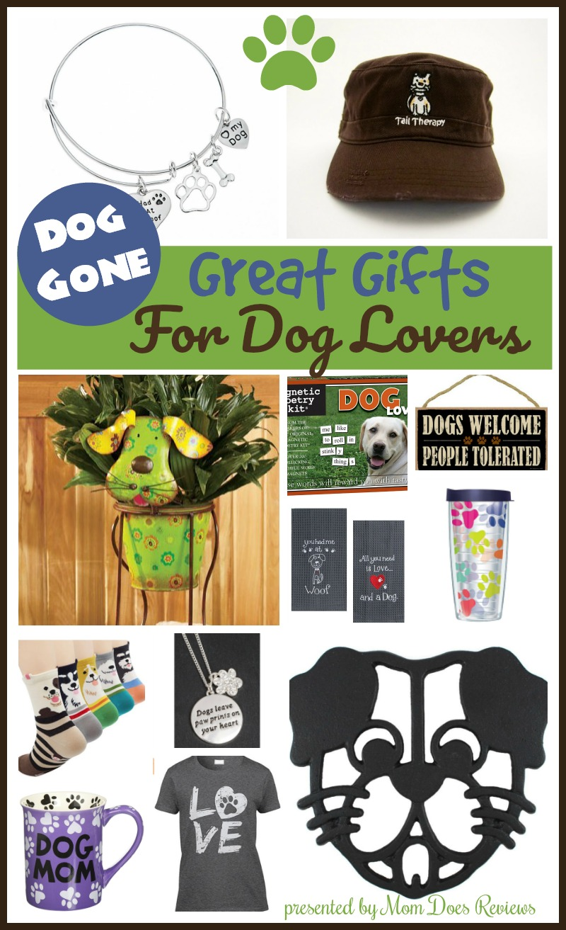 dog gone great gifts for dog lovers