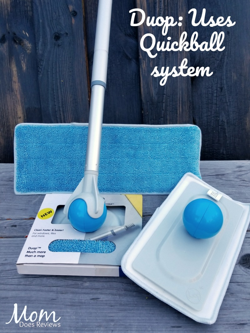 The Duop A Dual Option Cleaning System With Quickball