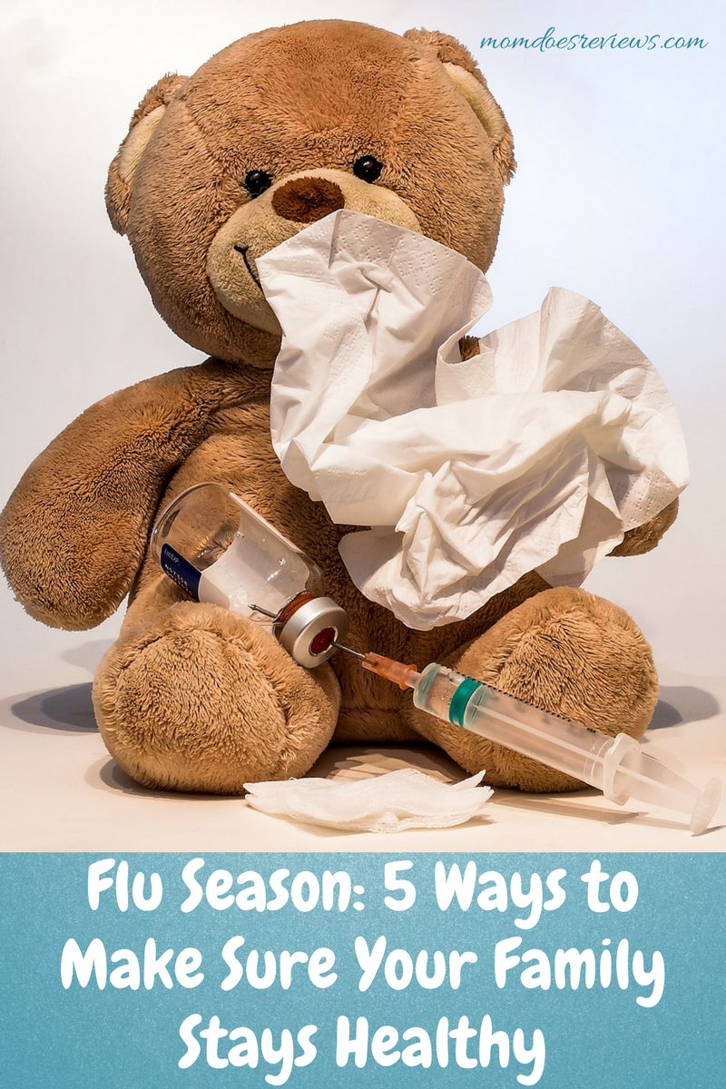 Flu Season: 5 Ways to Make Sure Your Family Stays Healthy