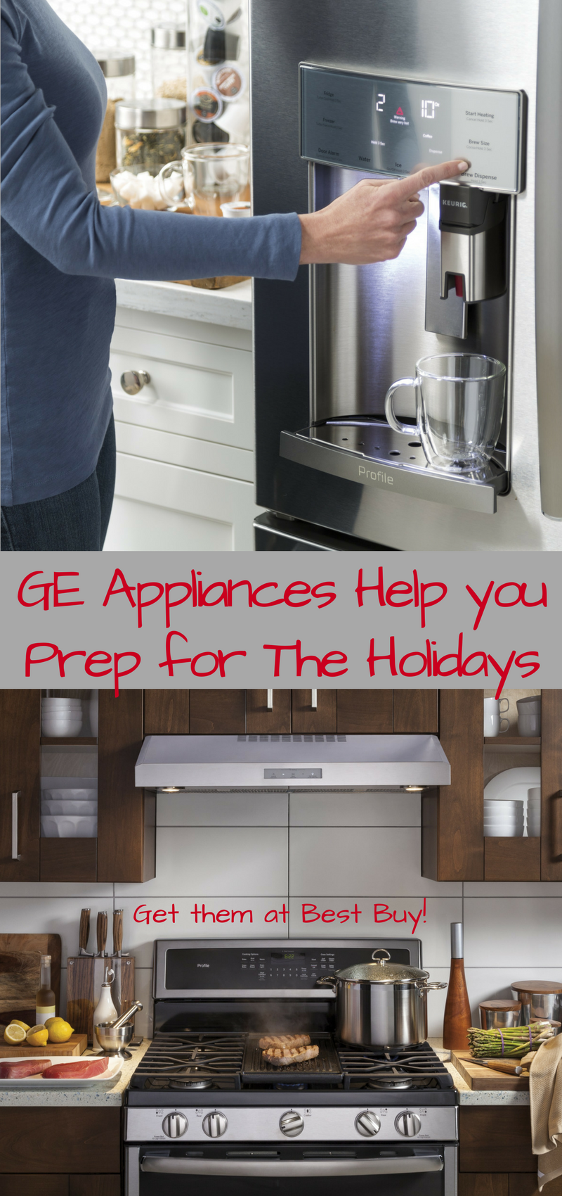 GE Appliances Help you Prep for the Holidays