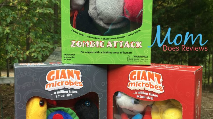 Larger Than Life Halloween Fun With GIANT Microbes #Review