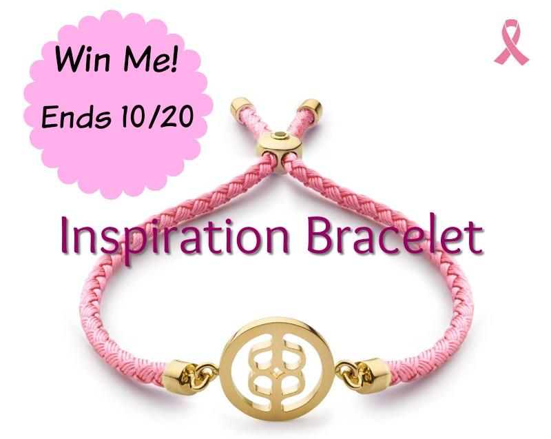 Inspiration Bracelet giveaway