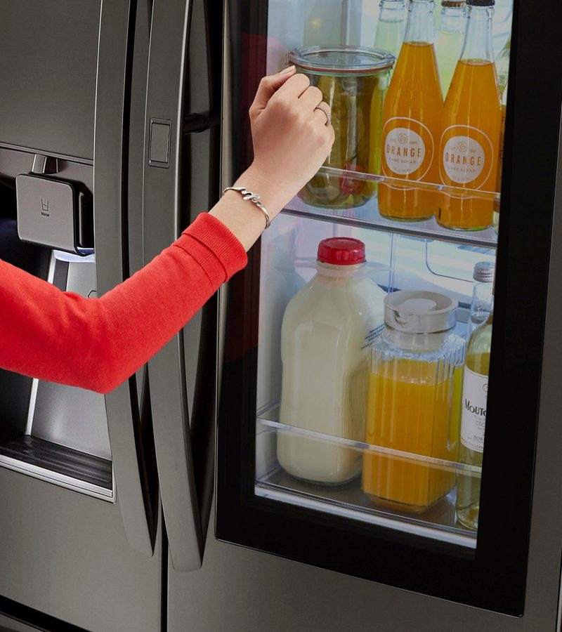 LG appliances Prep for the holidays Refrigerator