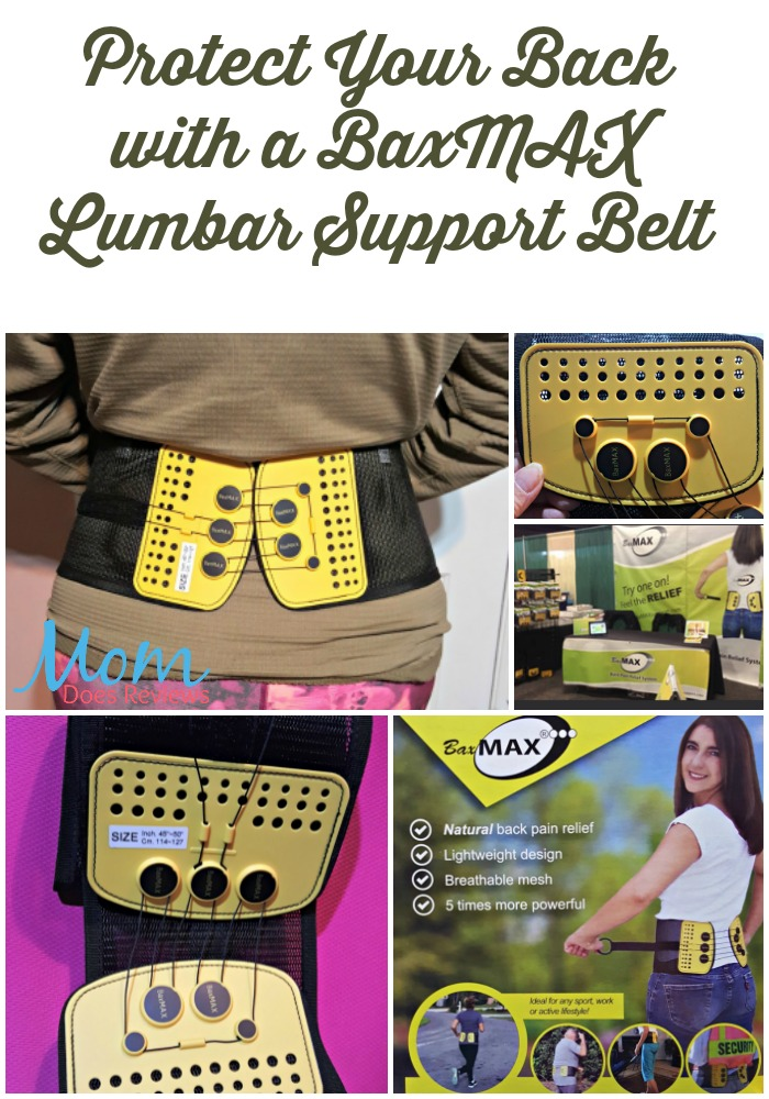 Protect Your Back with a BaxMAX Lumbar Support Belt #MegaChristmas17