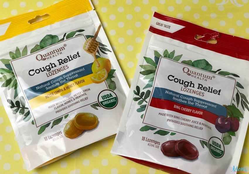 Quantum Health Cough Relief Lozenges