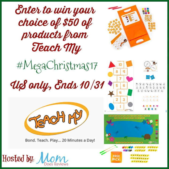 Win $50 Gift Certificate from Teach My