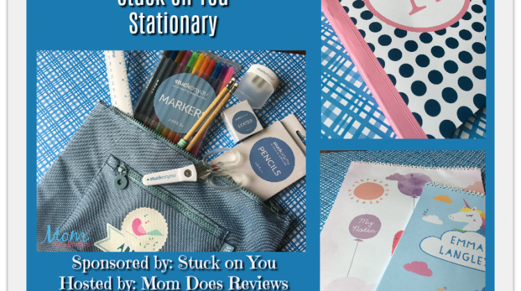 #Win Stuck On You Personalized Stationary Open to US Only, ends 11/2 #MegaChristmas17