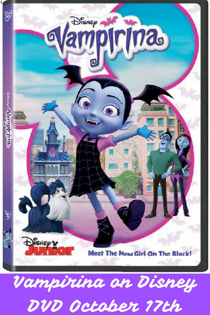 Vampirina coming to Disney DVD October 17th