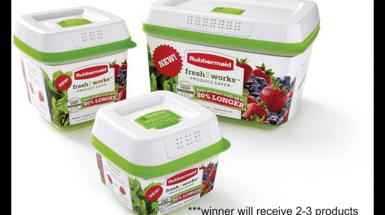 #Win Rubbermaid FreshWorks Prize pack US ends 11/3