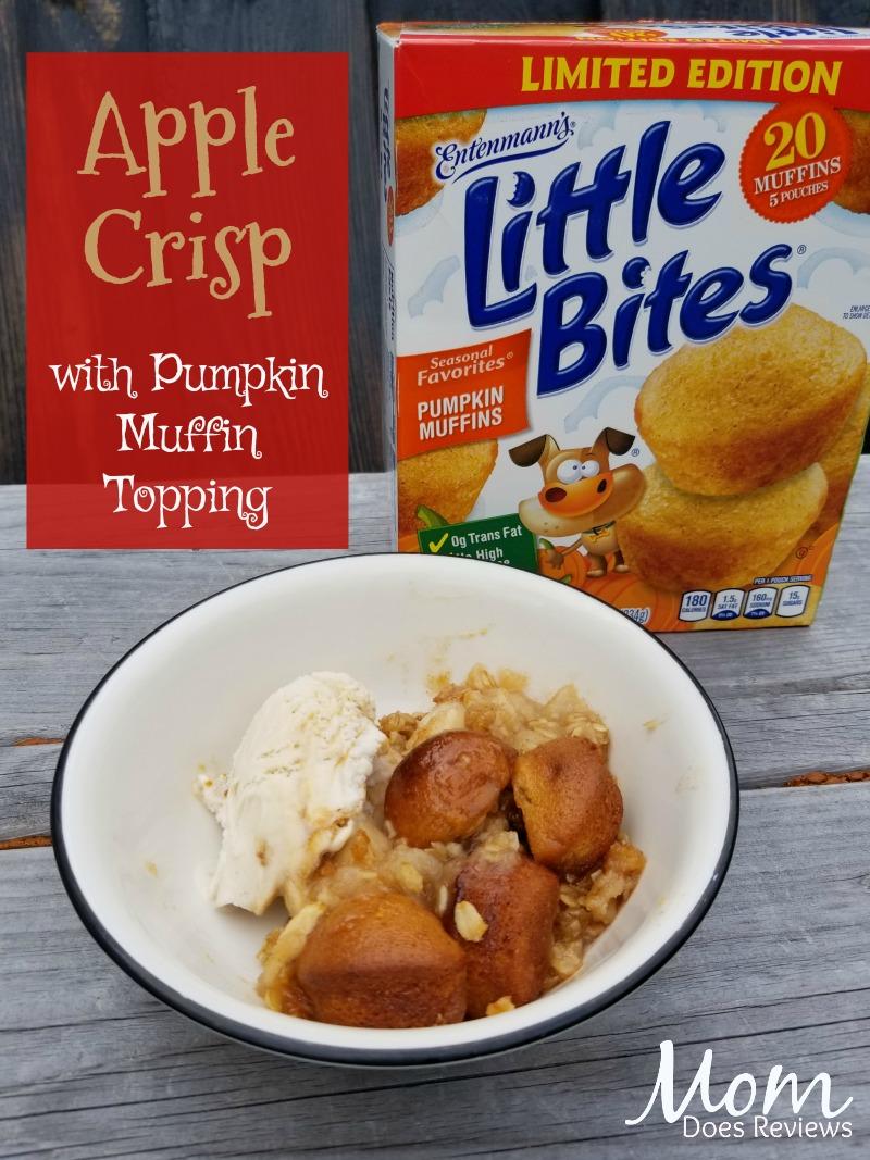 Apple Crisp with Entenmann's®Little Bites® Pumpkin Muffins