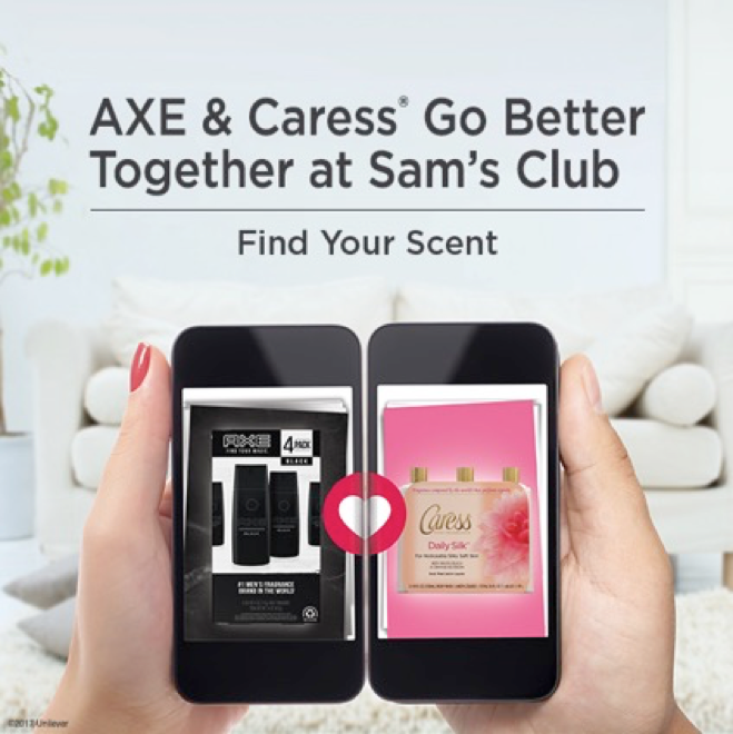 AXE & Caress Go Better together at Sam's club