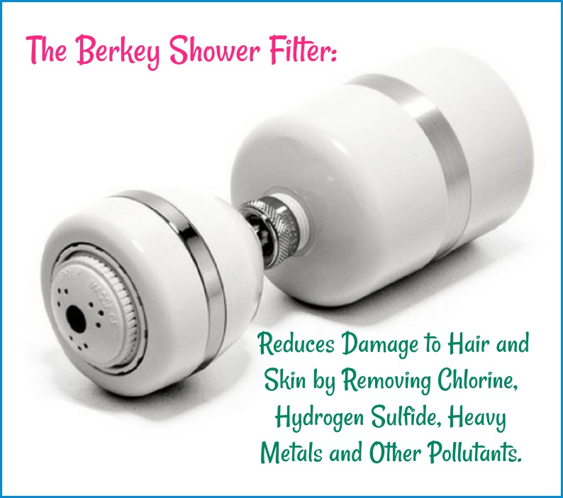 remove chlorine hydrogen sulfide and heavy metals with a berkey shower filter. Black Bedroom Furniture Sets. Home Design Ideas