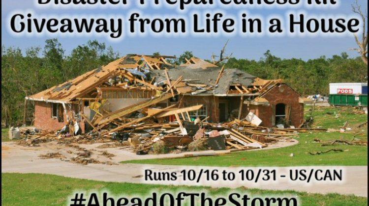 10 #Winners for Disaster Preparedness Kit #AheadOfTheStorm #PlanAhead #NatlPrep
