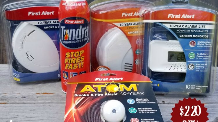 October is Fire Prevention Month- First Alert Fire Prevention Kit- #SuperPreparedFamily