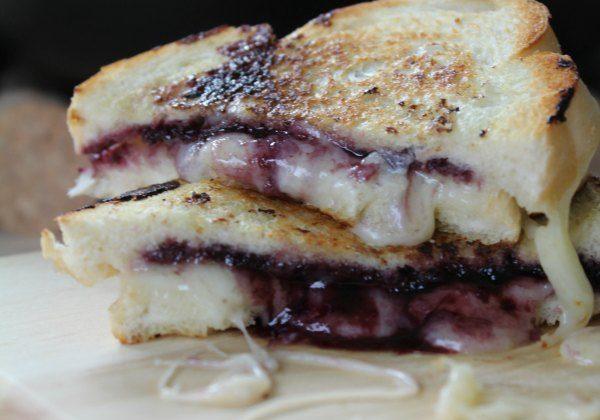 Grilled Cheese and Jelly