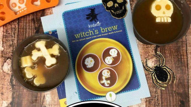 kidstir witch's brew apple cider recipe