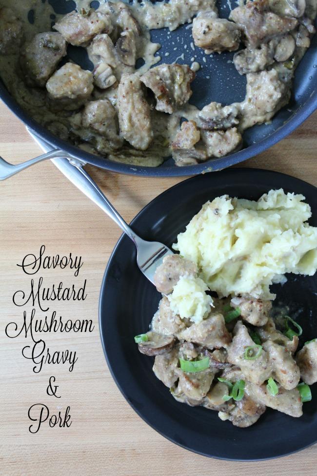 Mustard Mushroom Pork
