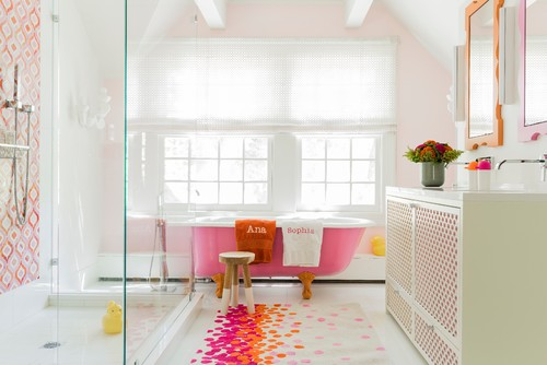 How To Create A KidFriendly Bathroom - Best flooring for kids bathroom
